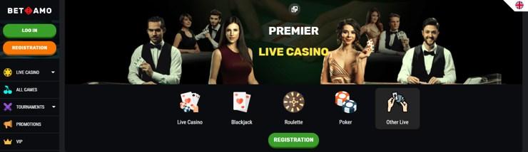 Betamo är ett online casino som erbjuder det mesta när det kommer till slots och jackpott spel, det finns även alltid saftiga erbjudanden att hämta för den som vill bli rikligt belönad regel