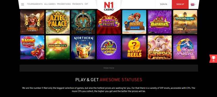 N1Casino tillhör samma ägare som Spinia och många andra av de allra mest populära online casinon som har sitt ursprung på Malta